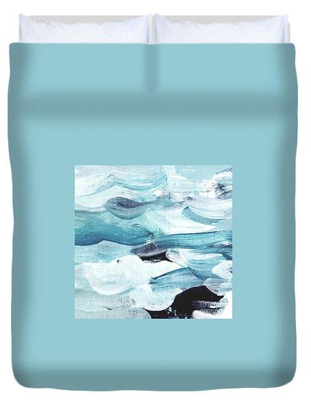 Blue #13 Duvet Cover