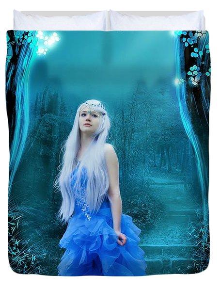 Blue Dress Duvet Cover