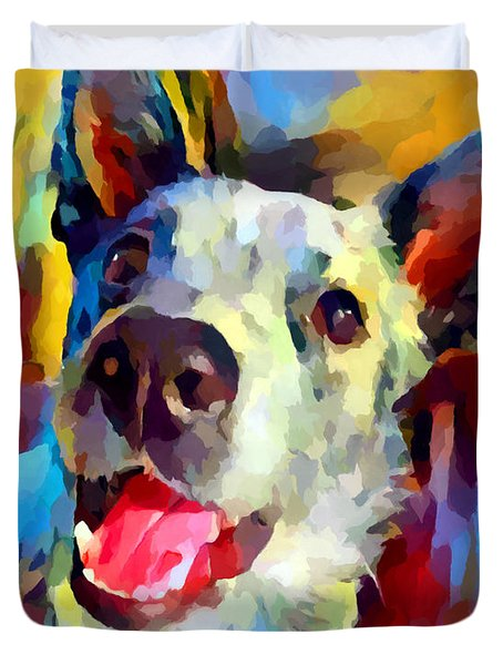 Blue Heeler 2 Duvet Cover