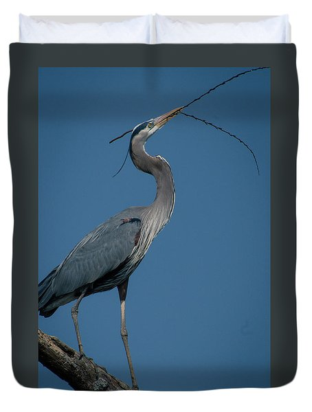 Blue Heron 2011-0322 Duvet Cover