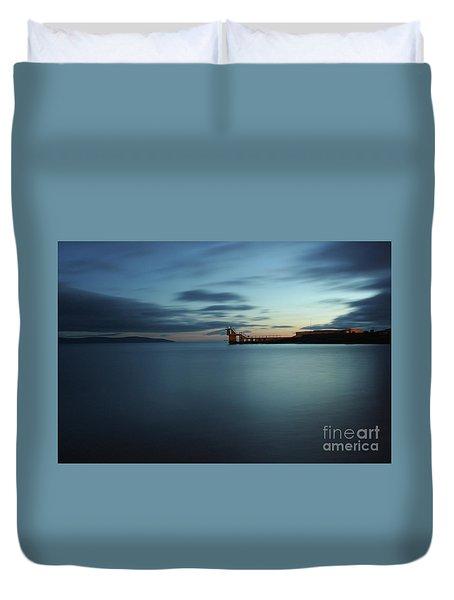 Blue Hour Salthill Duvet Cover