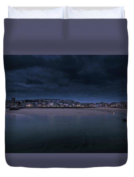 Blue Hour - St Ives Cornwall Duvet Cover