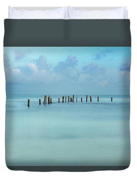 Blue Mayan Sea Duvet Cover