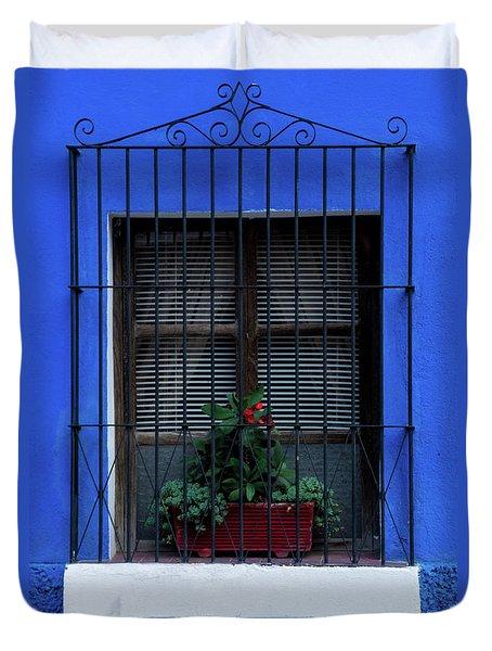 Blue-ming Beauty Duvet Cover