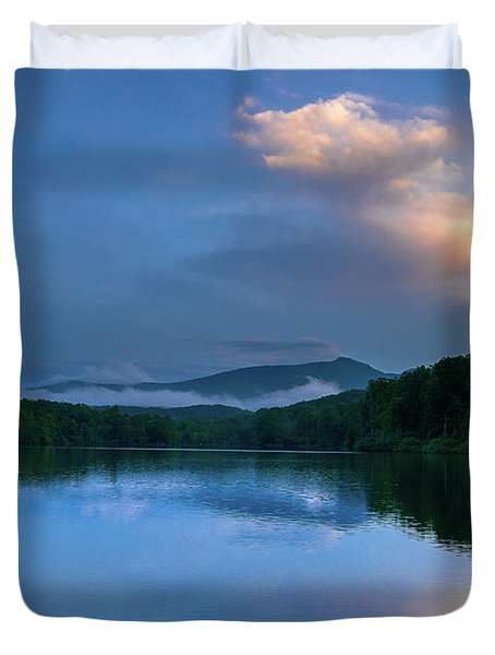 Blue Ridge Parkway - Price Lake - North Carolina Duvet Cover