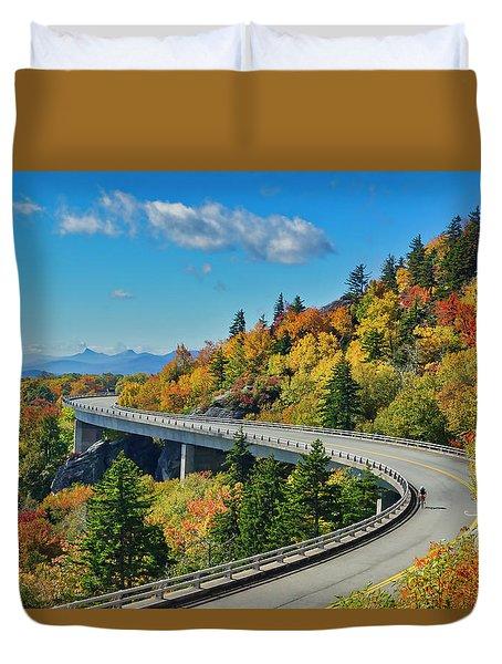 Blue Ridge Parkway Viaduct Duvet Cover