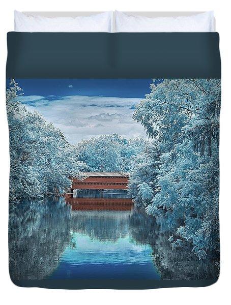 Blue Sach's Duvet Cover