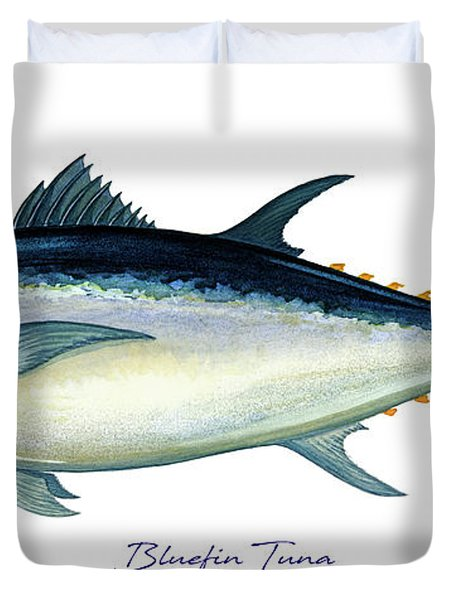 Bluefin Tuna Duvet Cover