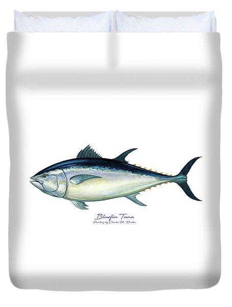 Bluefin Tuna Duvet Cover