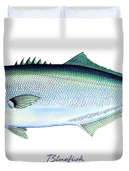 Bluefish Duvet Cover