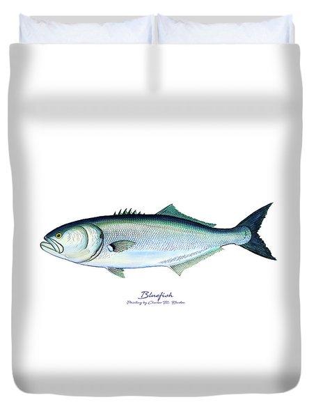 Bluefish Duvet Cover