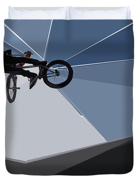 Bmx Biking  Duvet Cover