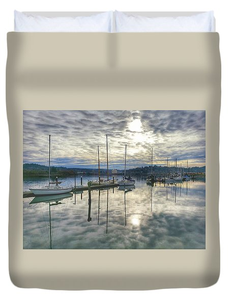 Boardwalk Bliss Duvet Cover