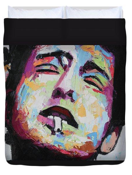 Bob Dylan IIi Duvet Cover