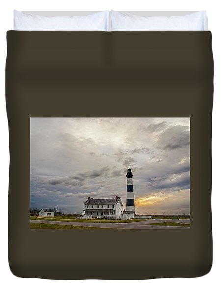 Bodie Island Lighthouse No. 2 Duvet Cover