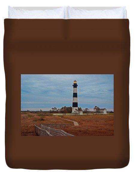 Bodie Island Lighthouse No. 4 Duvet Cover
