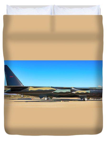 Boeing B52d Sac Bomber Duvet Cover