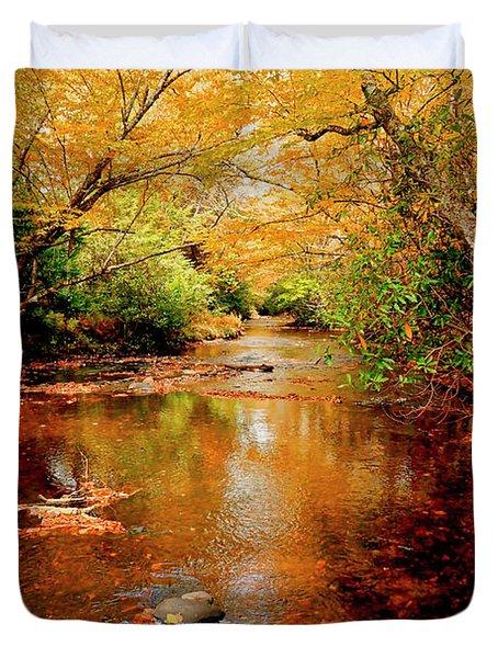 Boone Fork Stream Duvet Cover