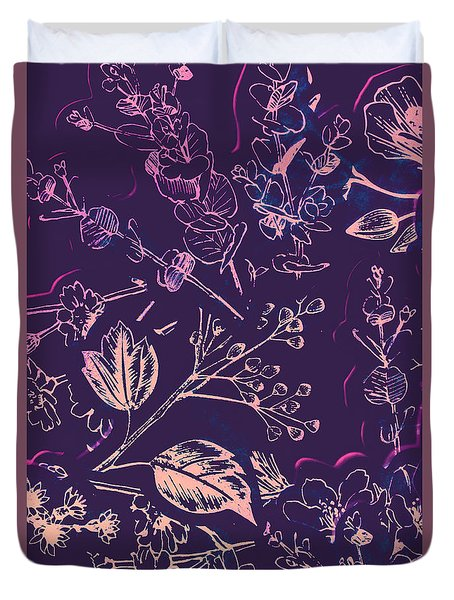 Botanical Branching Duvet Cover