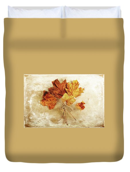 Duvet Cover featuring the photograph Bouquet Of Memories by Randi Grace Nilsberg