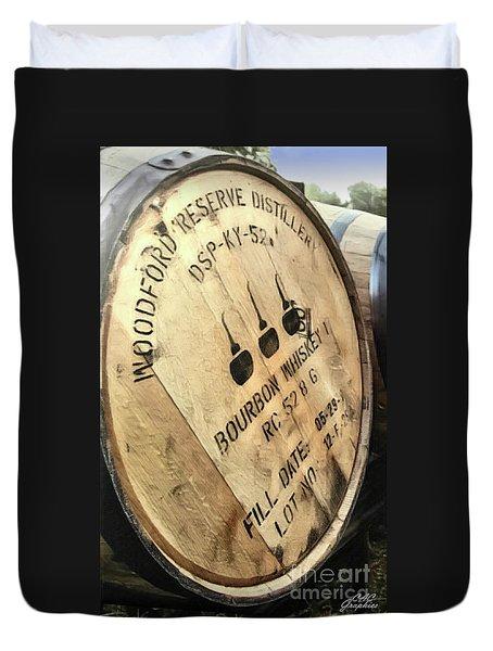 Bourbon Barrel Duvet Cover