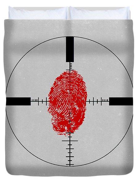 Bourne Identity Duvet Cover