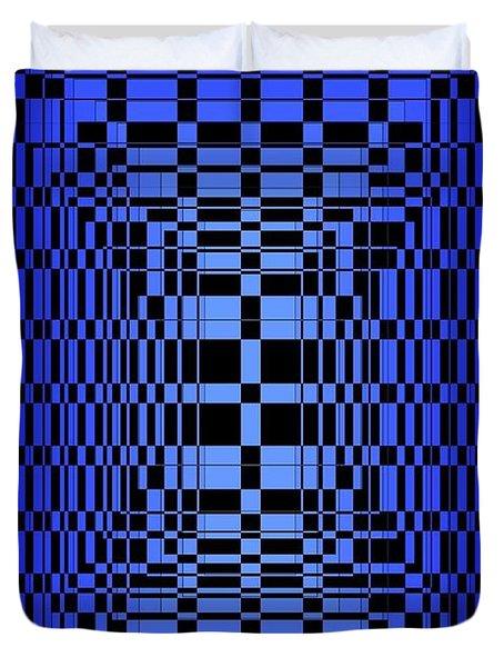 Brave Blue  Duvet Cover