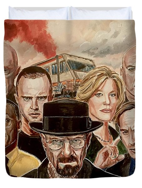 Breaking Bad Family Portrait Duvet Cover