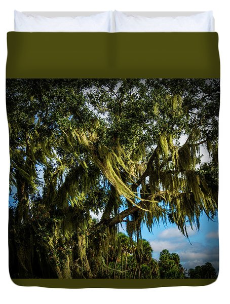 Breezy Florida Day Duvet Cover