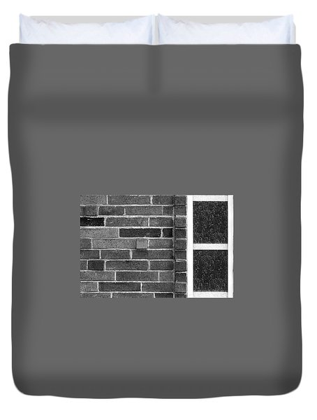 Brick And Glass - 2 Duvet Cover