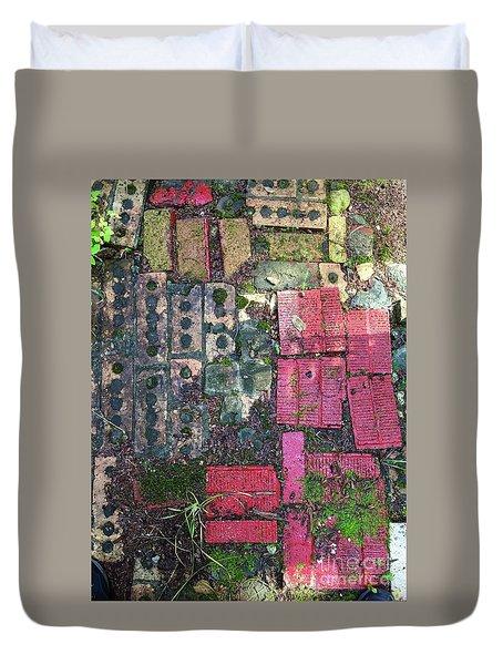 Brick Composition 3 Duvet Cover