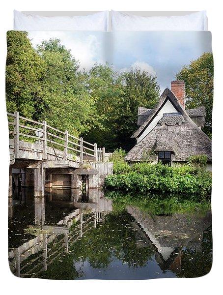 Bridge Cottage, Flatford Duvet Cover