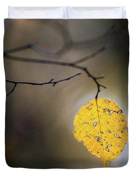 Bright Fall Leaf 7 Duvet Cover