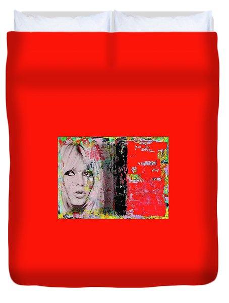 Brigitte Bardot Duvet Cover