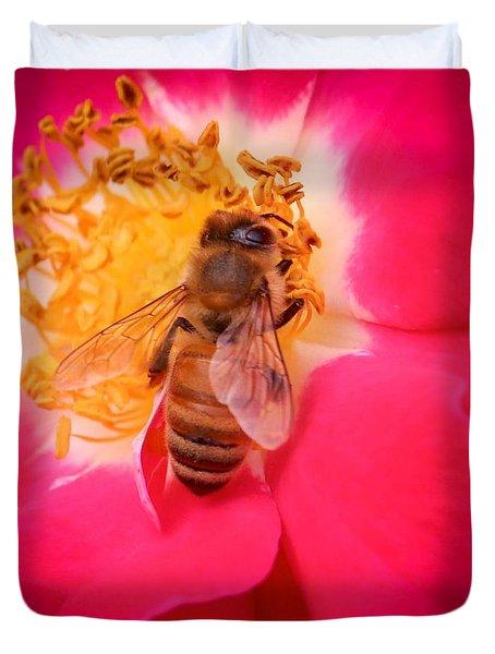 Brilliant Bee Duvet Cover