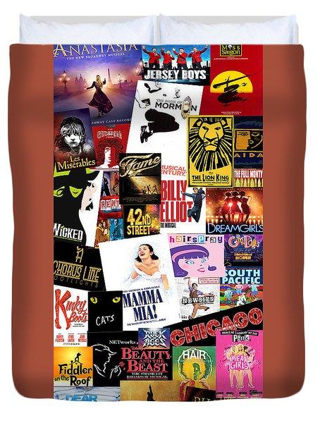 Broadway 22 Duvet Cover