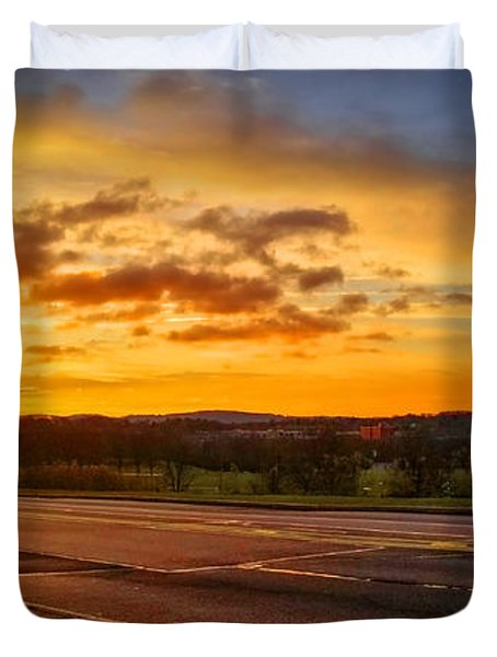 Broadway Sunrise Duvet Cover