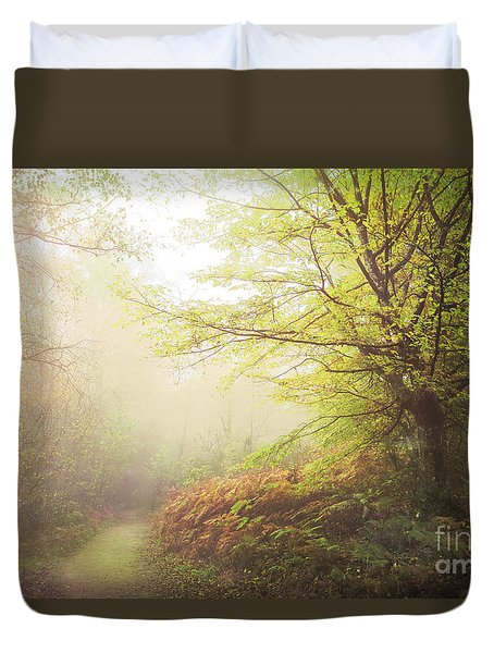 Broceliand Path Duvet Cover