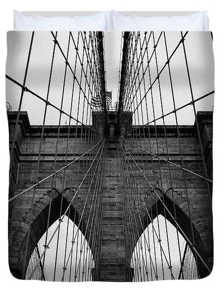 Brooklyn Bridge Wall Art Duvet Cover