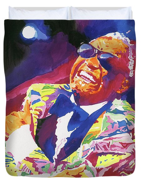 Brother Ray Charles Duvet Cover