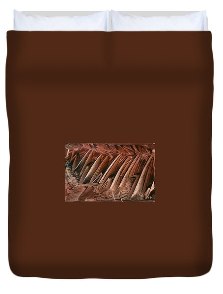 Brown Ladders/steps Duvet Cover