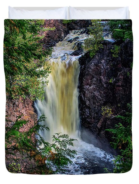 Brownstone Falls Duvet Cover