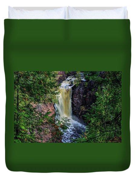 Brownstone Falls Duvet Cover