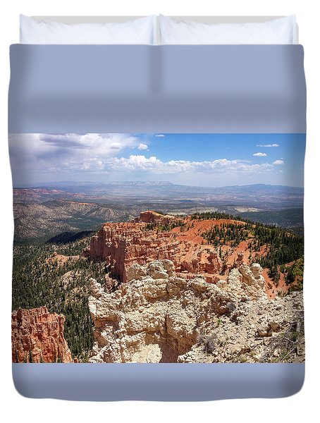 Bryce Canyon High Desert Duvet Cover