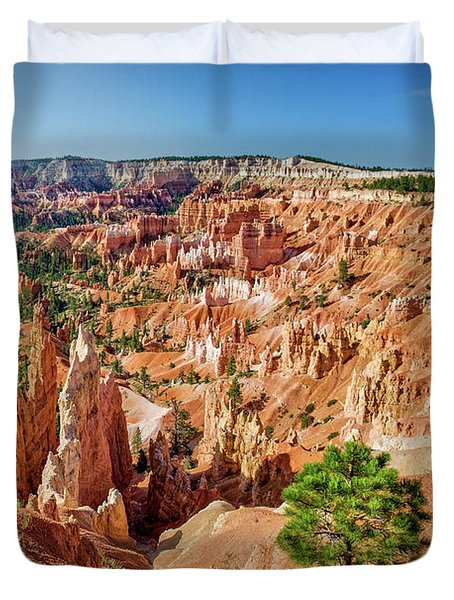 Bryce Canyon Sunrise Point Duvet Cover
