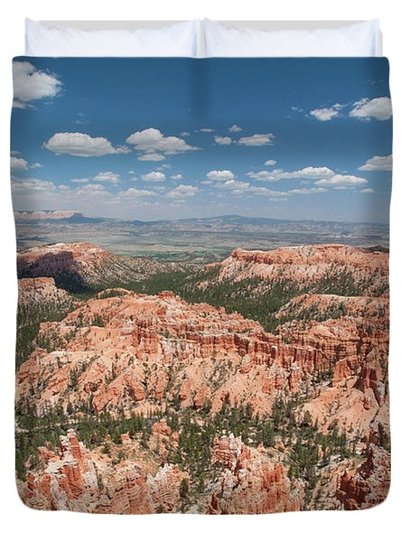 Bryce Canyon Trail Duvet Cover