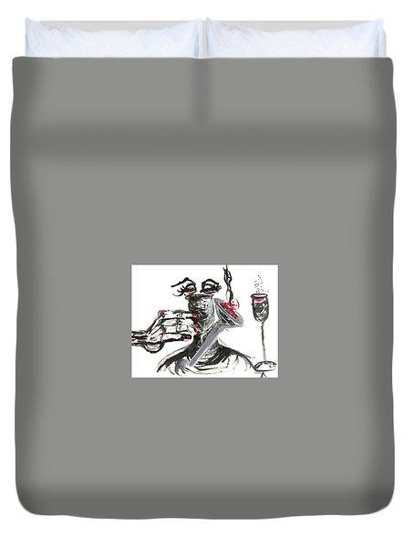 Bucket List Duvet Cover