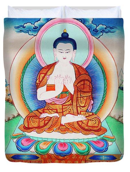 Buddha Thangka Duvet Cover
