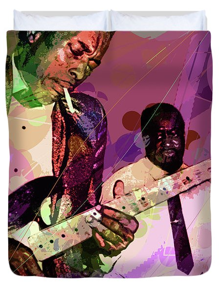 Buddy Guy 1965 Duvet Cover