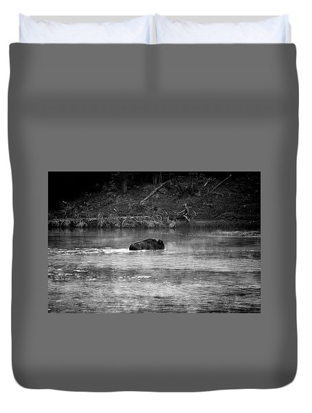 Buffalo Crossing Duvet Cover